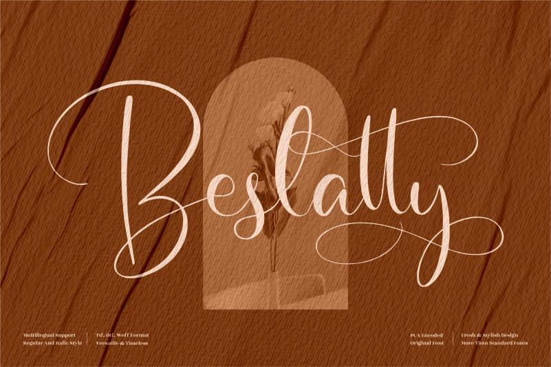 Beslatty Script Font