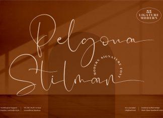 Pelgona Stilman Handwritten Font