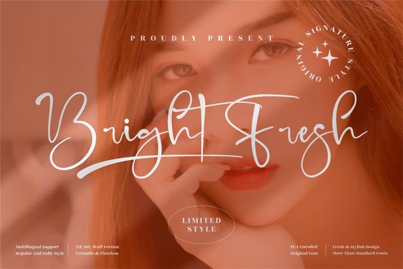 Bright Fresh Script Font