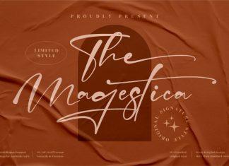 The Magestica Script Font