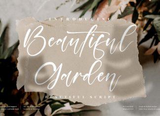 Beautiful Garden Script Font