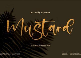 Mustard Handwritten Font