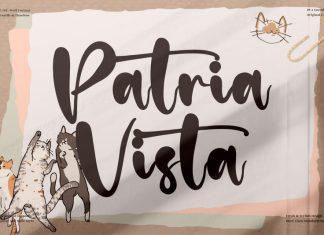 Patria Vista Script Font