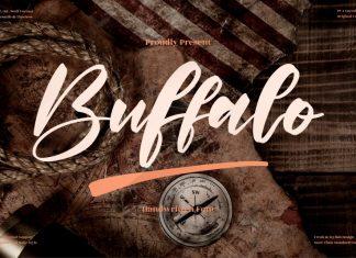Buffalo Calligraphy Font