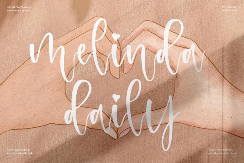 Melinda Daily Script Font