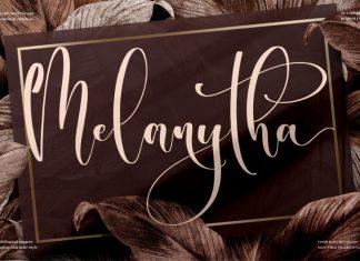Melanytha Script Font