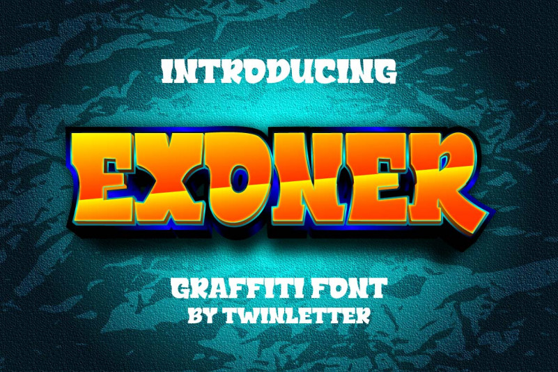 Exoner Display Font