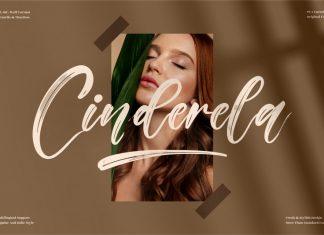 Cinderela Brush Font