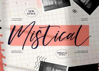 Mistical Handwritten Font