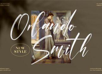 Orlando Smith Brush Font