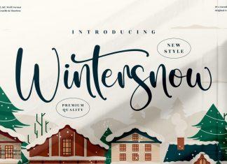 Wintersnow Script Font