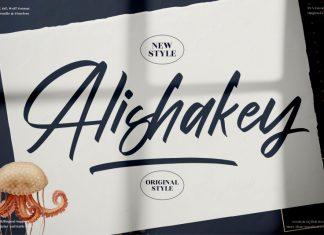 Alishakey Script Font