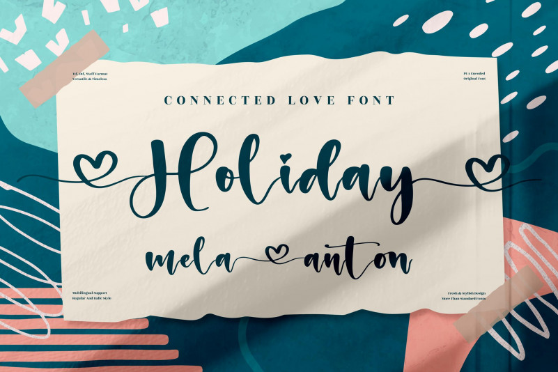 Holiday Script Typeface