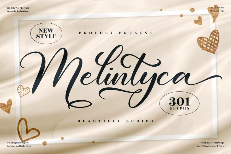 Melintyca Script Font