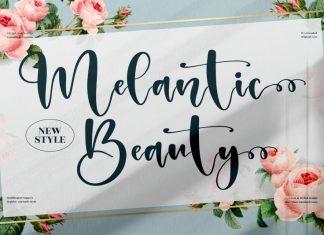 Melantic Beauty Script Font