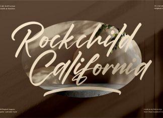 Rockchild California Calligraphy Font