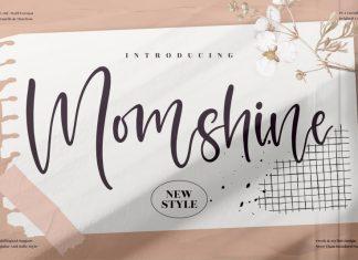 Momshine Script Font
