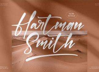 Hartman Smith Handwritten Font