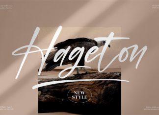 Hageton Handwritten Font