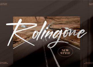 Rolingone Script Font