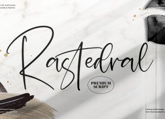 Rastedral Handwritten Font