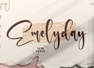 Emelyday Handwritten Font
