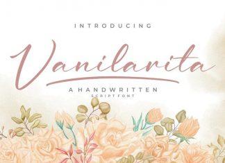 Vanilarita Script Font