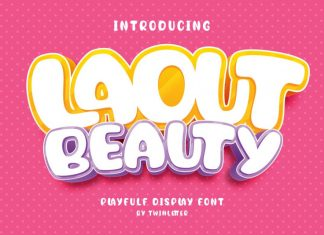 Laout Beauty Display Font