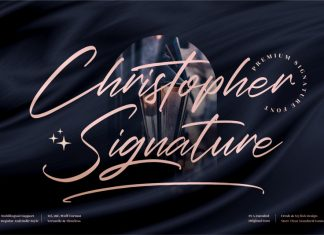Christopher Signature Font