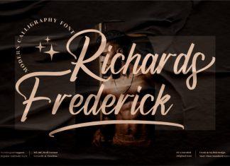 Richards Frederick Calligraphy Font