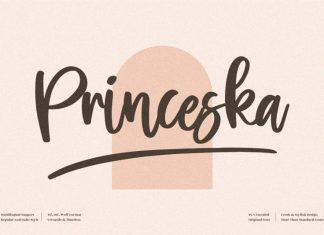 Princeska Handwritten Font
