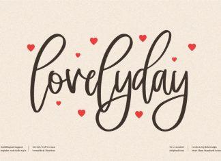 Lovelyday Handwritten Font