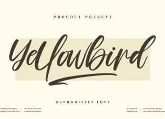 Yellowbird Handwritten Font