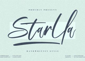 Starlla Handwritten Font
