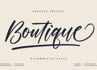 Boutique Handwritten Font