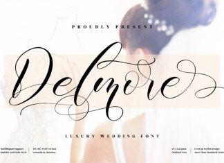 Delmore Script Font
