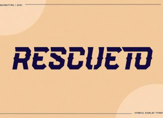 RESCUETO Display Font