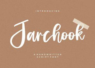 Jarchook Script Font