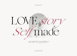 Love Story Serif Font