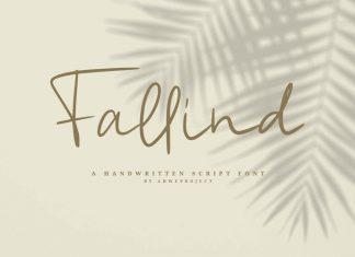 Fallind Script Font
