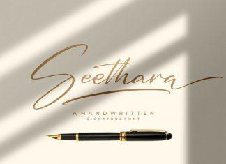 Seethara Script Font