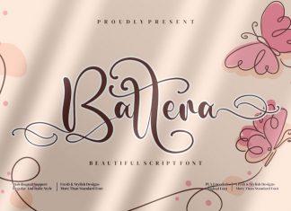 Battera Calligraphy Font