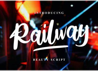 Railway Script Font