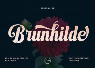 Brunhilde Script Font