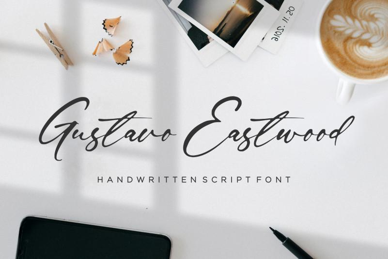 Gustavo Eastwood Handwritten Font