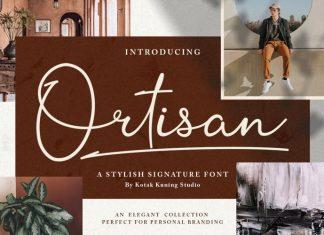 Ortisan Signature Script Font