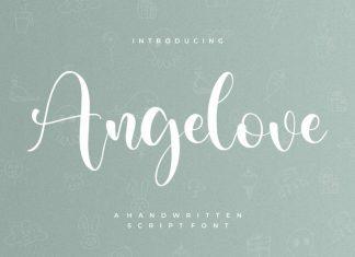 Angelove Script Font
