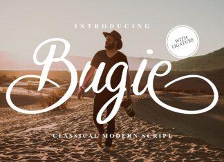 Bugie Script Font