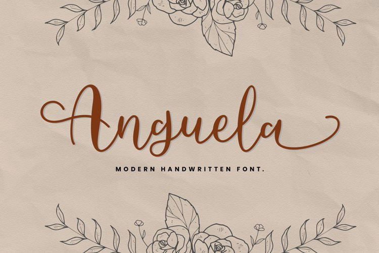Anguela Script Font