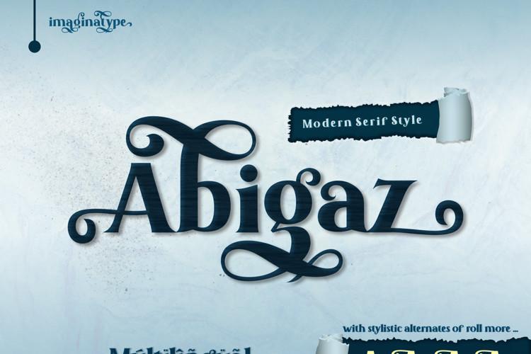 Abigaz Serif Font